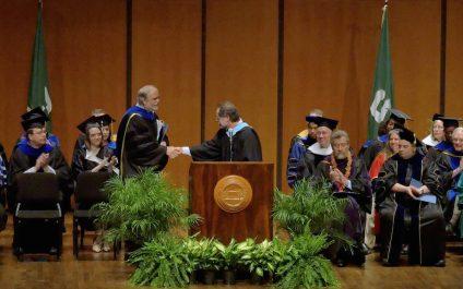 Distinguished Alumni Award for Terry